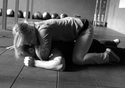 Selbstverteidigungskurs im Taekwondo Center Duisburg.